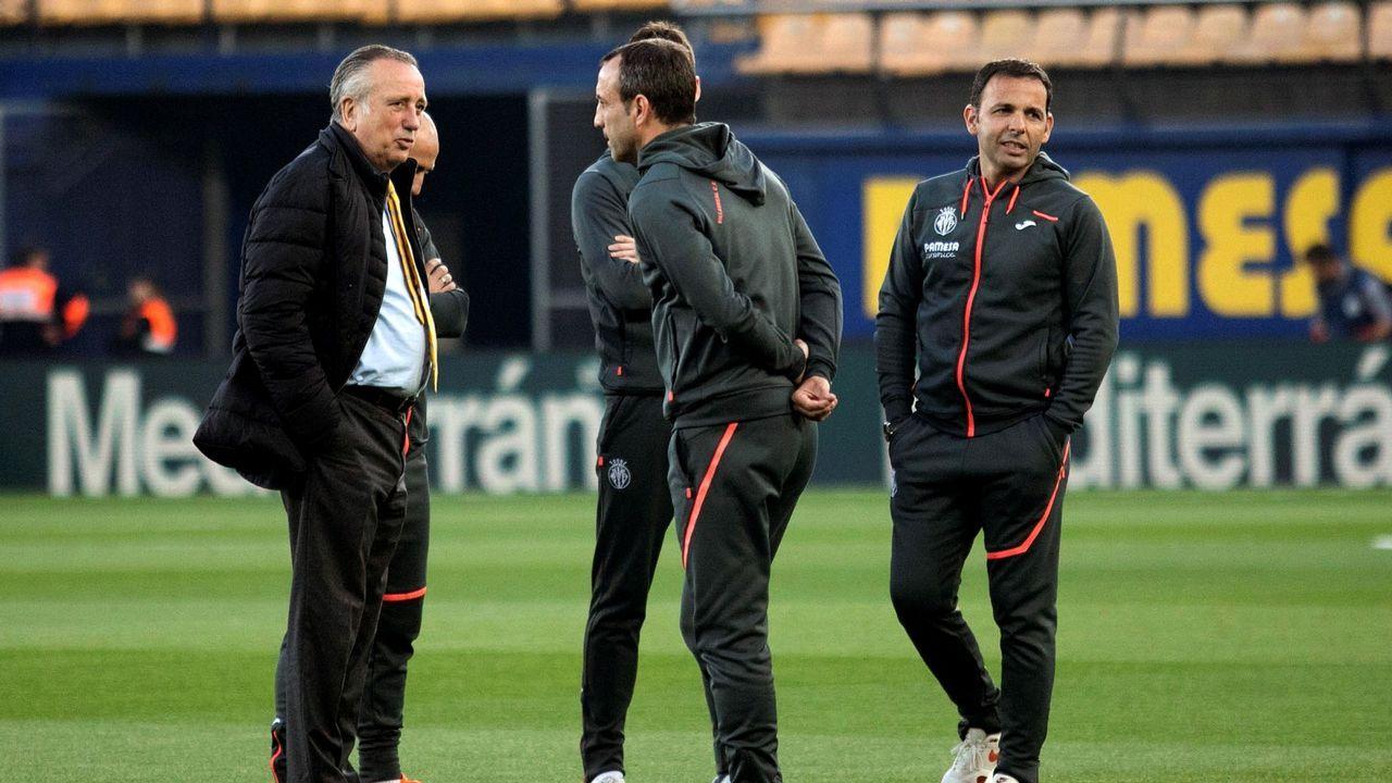 Míchel Salgado, «convencido» de que el Celta salvará la categoría.Santi Cazorla celebrando uno de sus dos goles al Real Madrid