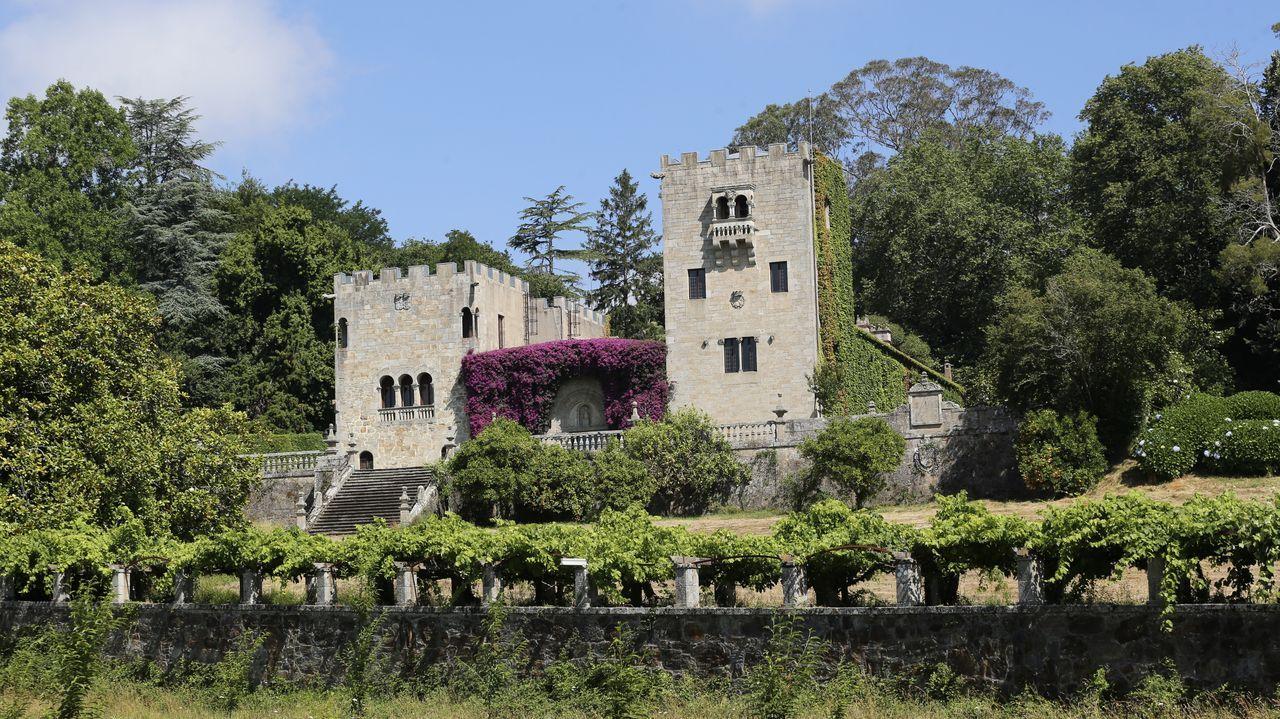 El pazo de Meirás fue la residencia veraniega de Franco durante la dictadura