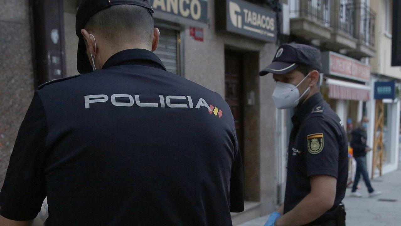 Un hombre mata a su sobrino de tres años estrangulándolo en Santiago.Vista de Monte Alto
