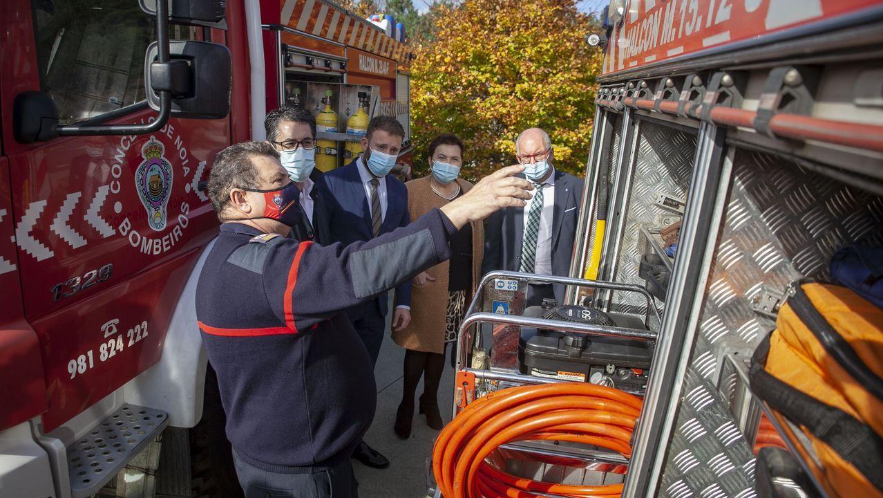 Cartel informativo sobre el incumplimiento de las franjas de protección para prevenir incendios