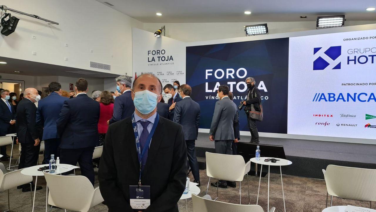 Borrell, este sábado en A Toxa, en las instalaciones del Gran Hotel