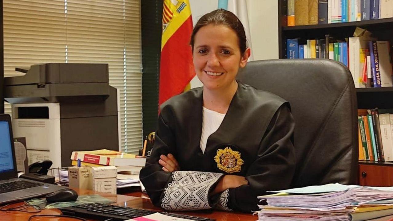 A maxistrada Olalla Díaz, elixida nova xuíza decana de Lugo