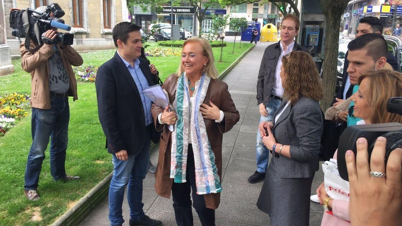 Agustín Iglesias Caunedo, en una junta local del PP de Oviedo.Mercedes Fernández