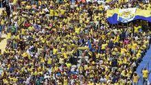 La UD Las Palmas fue el primer club en solicitar la entrada de su afición al campo