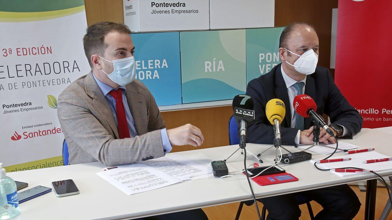 Borja Sánchez y Sangalli, durante un entrenamiento en El Requexón