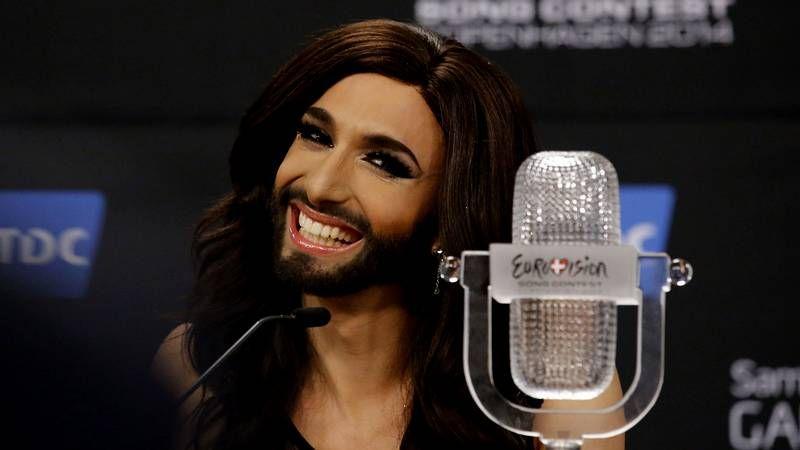 Conchita Wurst, flamante ganadora de Eurovisión.Tom Neuwirth, más conocido como Conchita Wurst