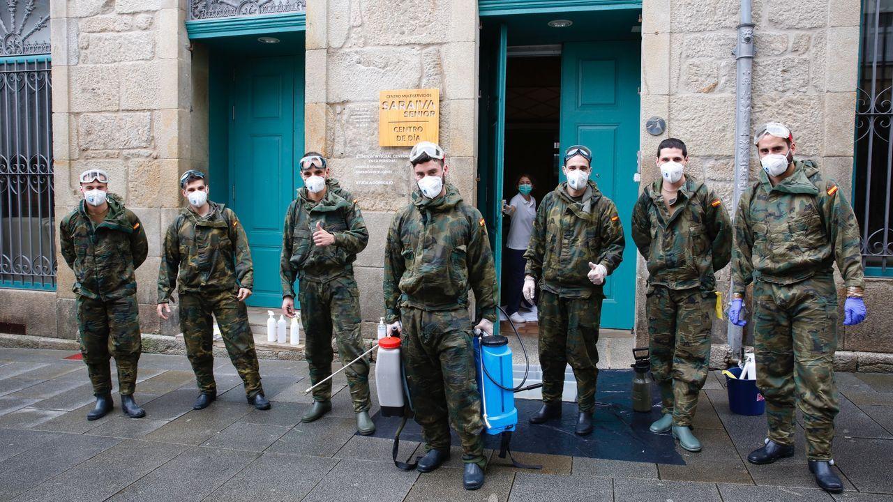 Así operan los equipos NBQ en las residencias.La protesta en la capital de Texas, Austin, fue una de las más multitudinarias