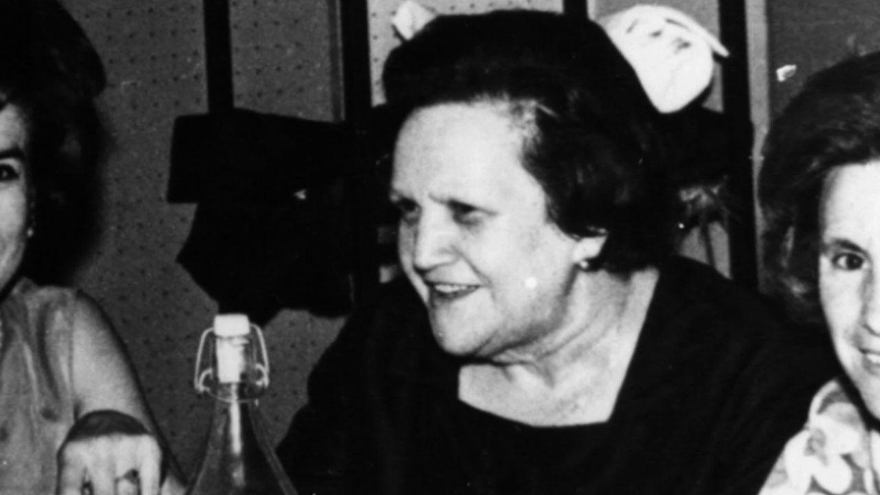 El antes y el después de los Cantones.Eloísa Rivadulla, «Lilita», ejerció como pediatra en Chantada hasta los anos ochenta