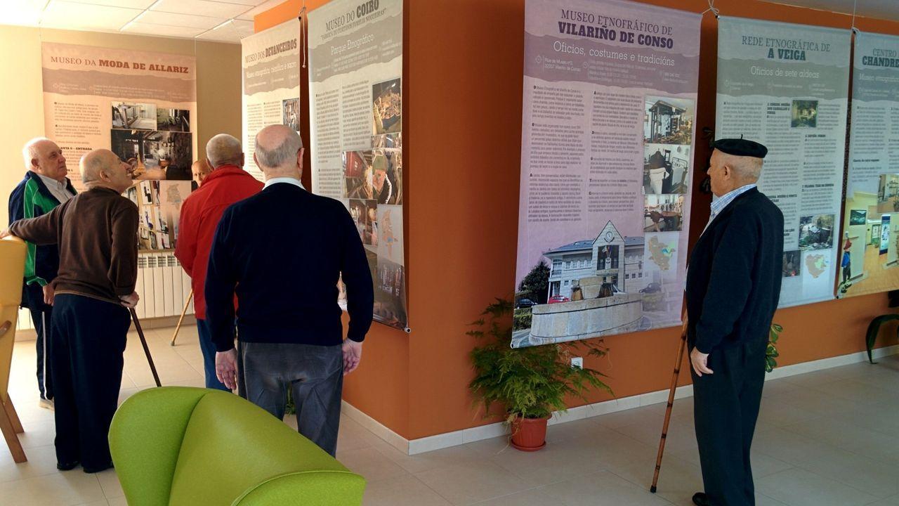 Museos para viajar al pasado en Ourense.Imagen en el interior de la residencia de Parada de Sil