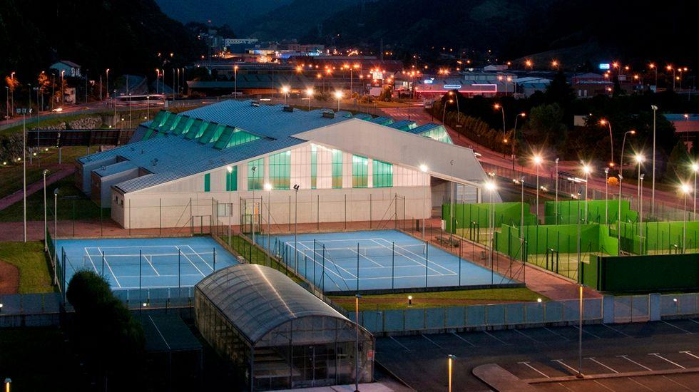 Complejo deportivo del campus de Mieres
