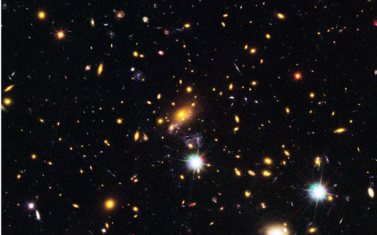Un negacionista para dirigir la NASA.Cúmulo de galaxias MACS J1149