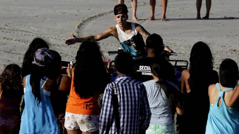 Las fotos que Bieber no pudo ocultar.Justin Bieber se fue de vacaciones a Panamá tras su salida de la cárcel