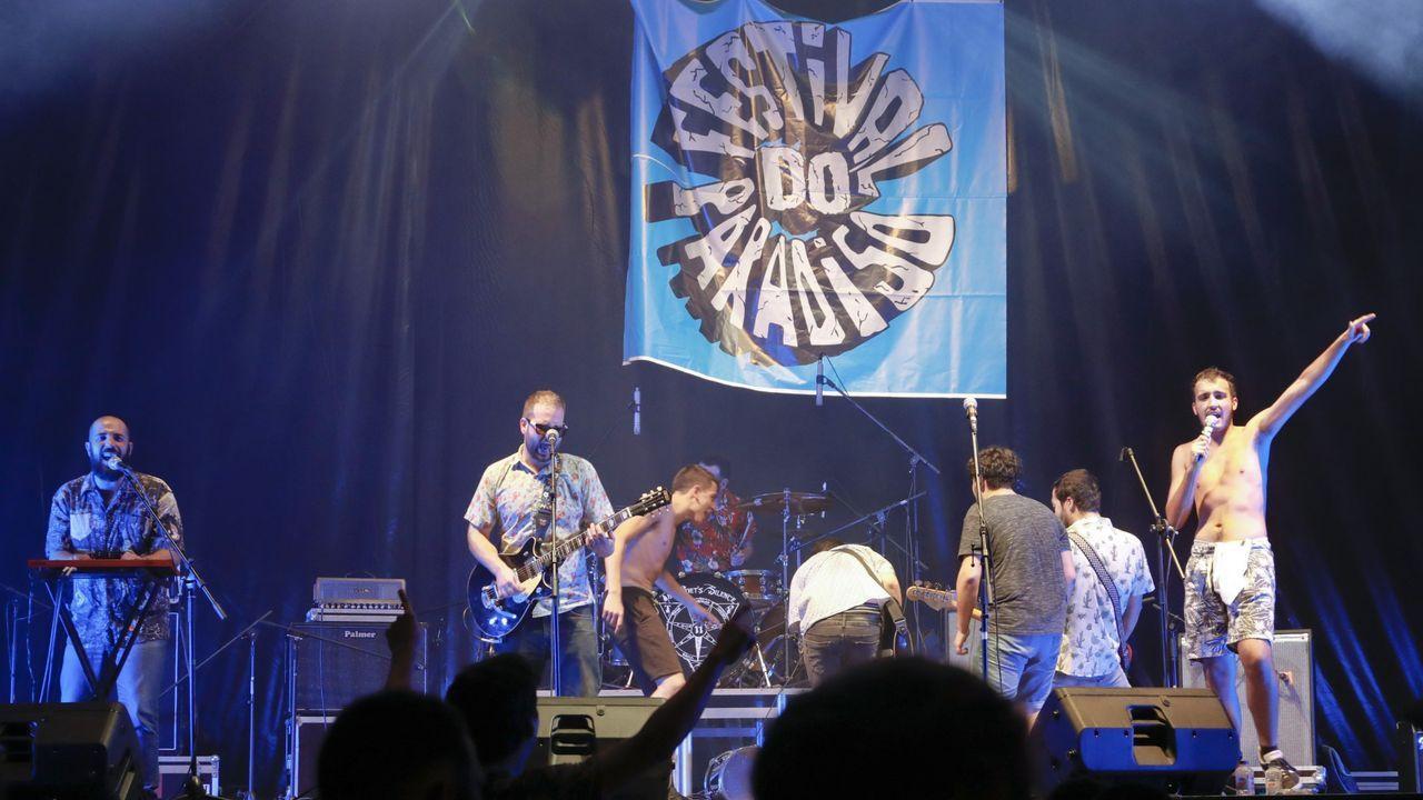 Una actuación del grupo Terbutalina en una edición anterior del festival