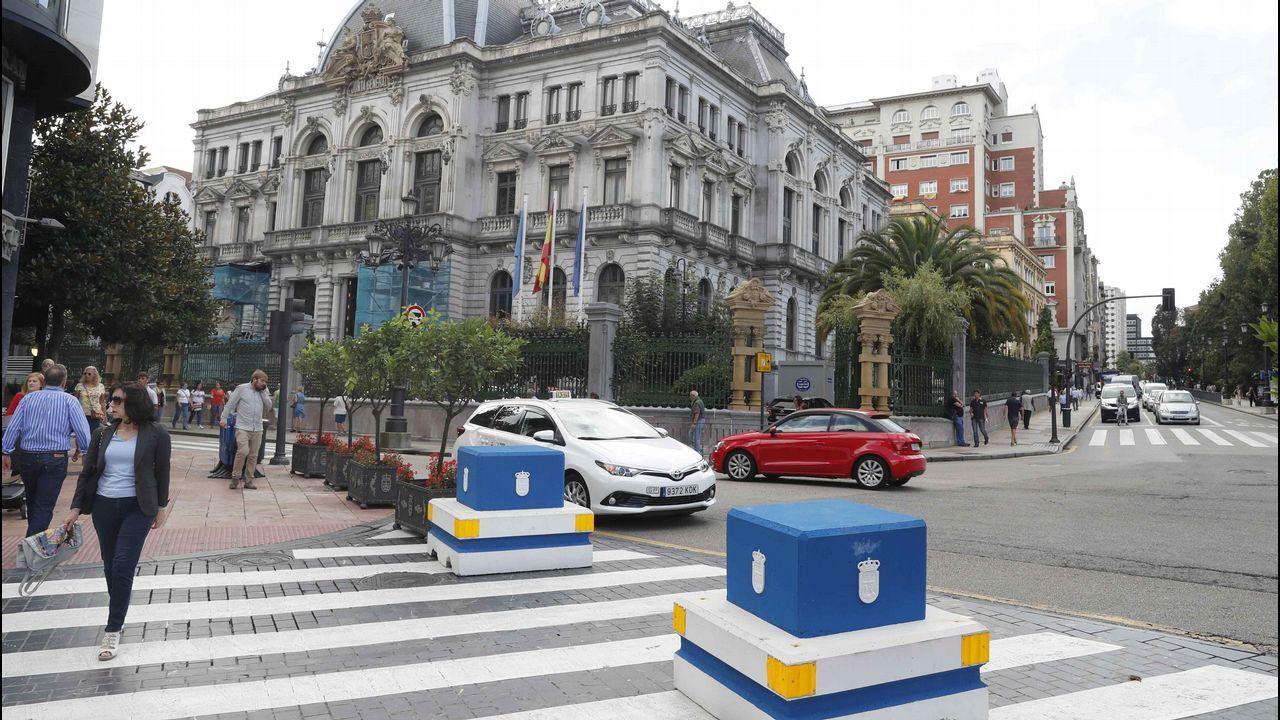 El Ayuntamiento de Oviedo refuerza la seguridad en las zonas peatonales del centro de la ciudad durante las fiestas de San Mateo