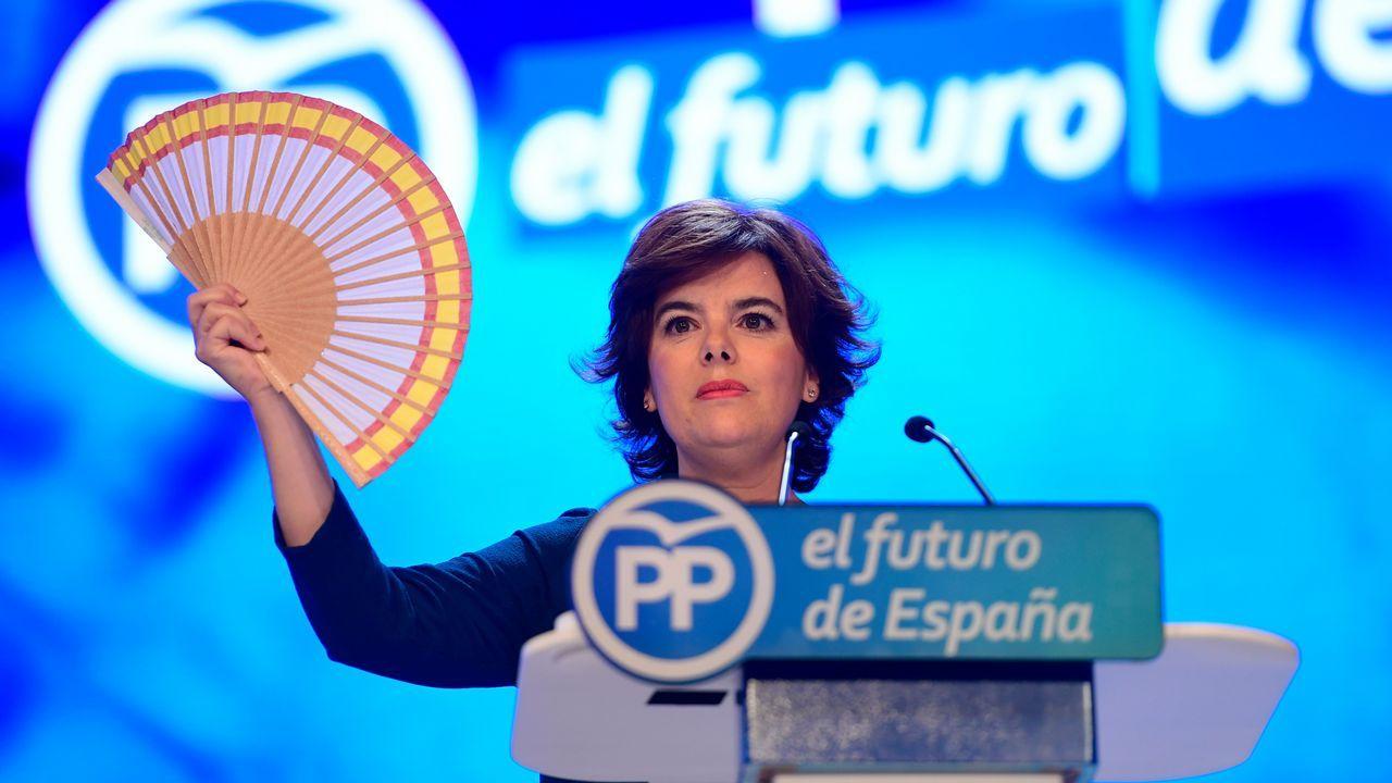 Santamaría ha comparado al PP con un abanico, que debe abrirse para ser grande