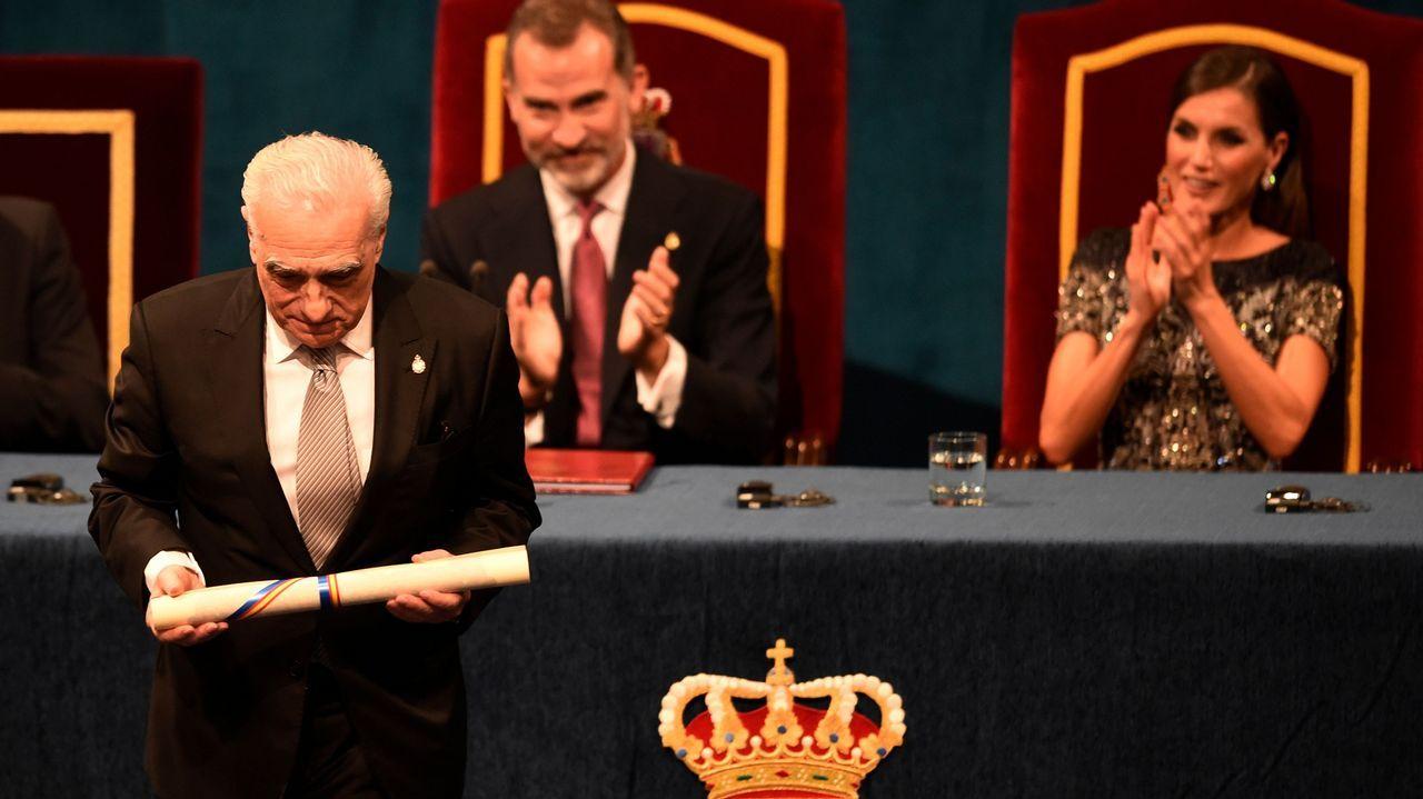 El director Martin Scorsese en la ceremonia de entrega de los Premios Princesa de Asturias.