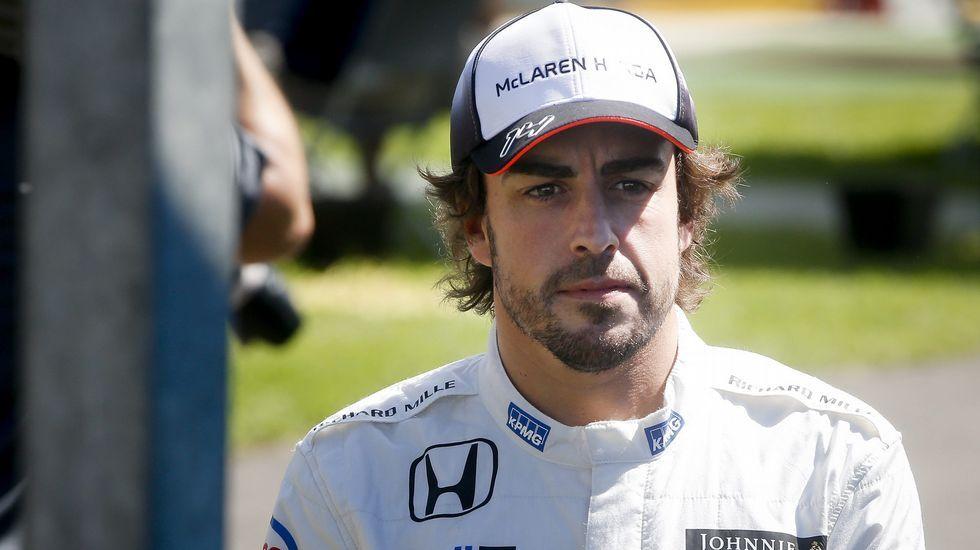 La imitación más desternillante de Luis Piedrahita.Fernando Alonso