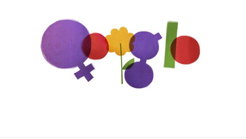 doodle dia de la mujer