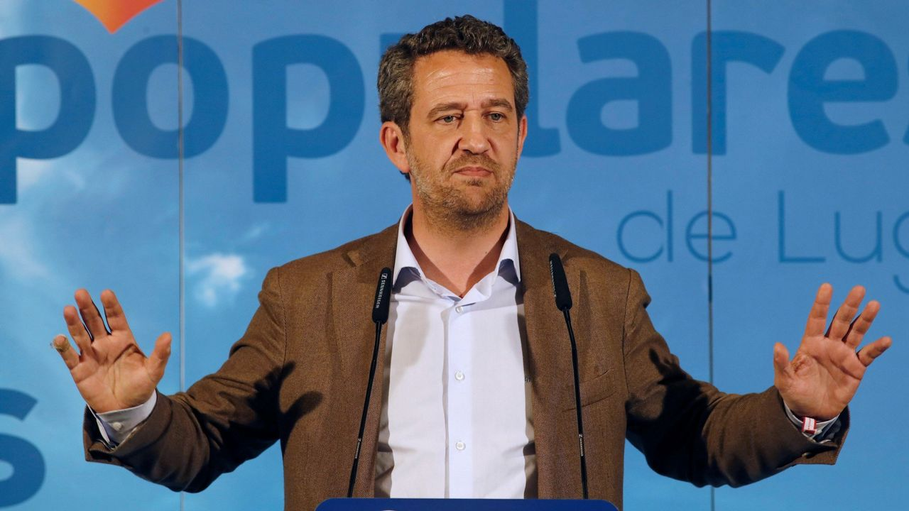 JAIME DE OLANO. Número 1 del PP por la provincia de Lugo