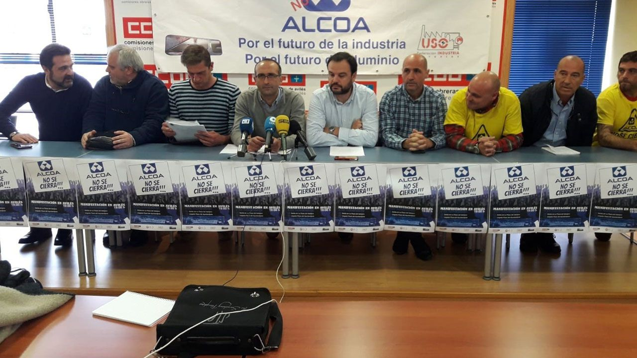 Baterías de coque de la planta de Arcelor en Gijón.Comité de Alcoa