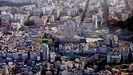 Vista aérea de Vigo. La ciudad más poblada de Galicia acaba de aprobar en pleno su nuevo Plan Xeral