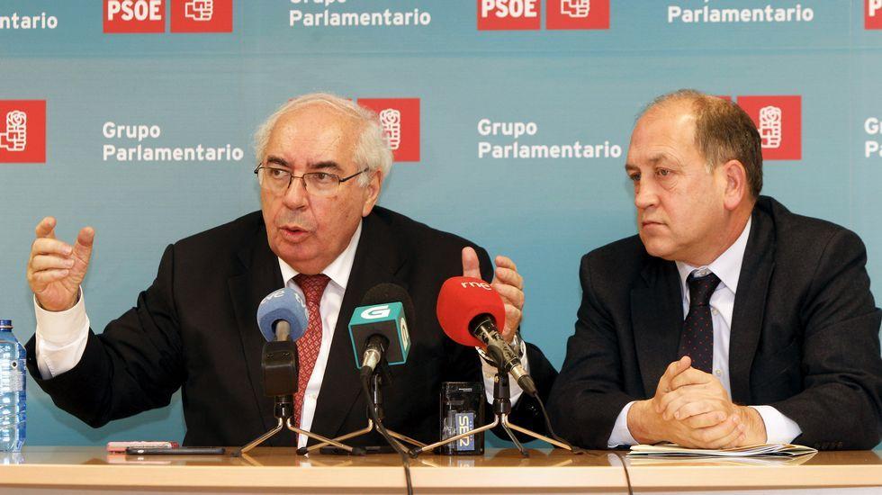Tinín Areces emplaza al PSdeG a canalizar más las demandas de Galicia a través del Senado.Visitantes en la Semana Negra de Gijón