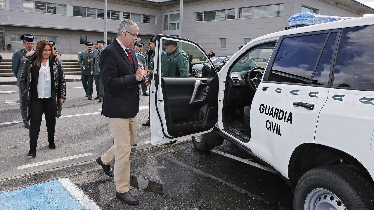 La Guardia Civil de Pontevedra renueva su parque móvil