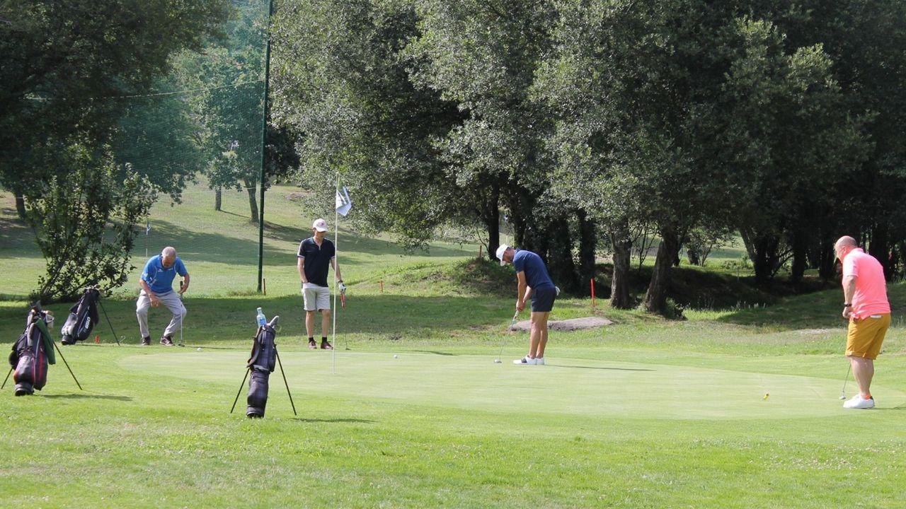 El último torneo en juego en el Barbanza Golf fue el Memorial Agustín Mourís