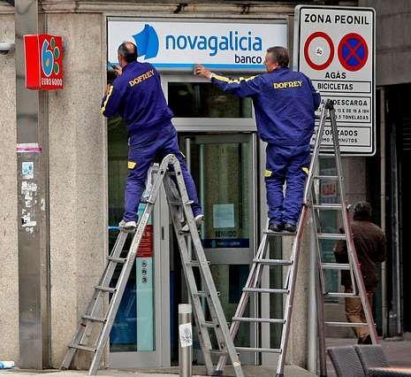 El sistema financiero gallego depende del proyecto de NCG.