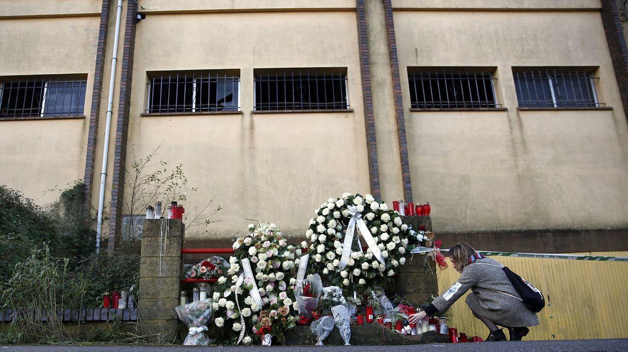 Imagen de la nave de Asados donde apareció el cadáver de Diana Quer