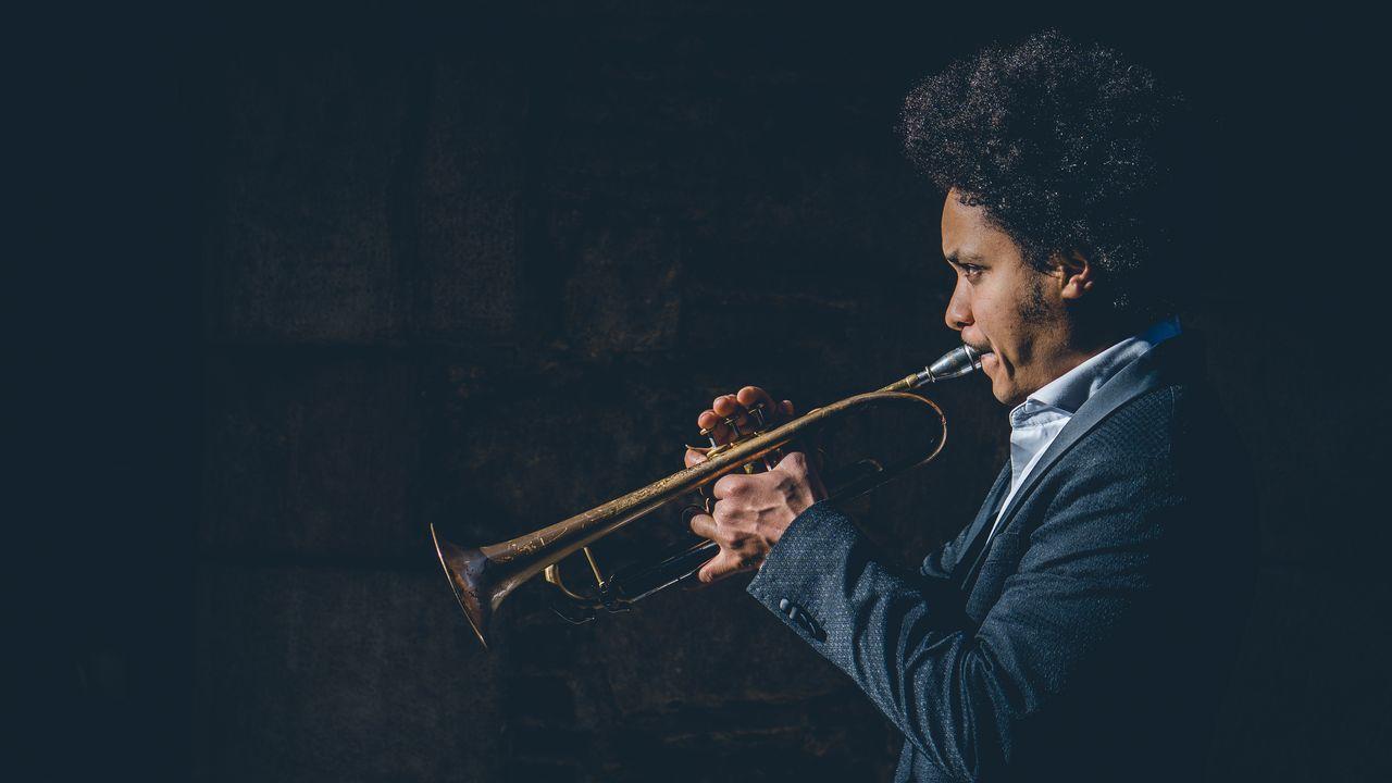 O trompetista cubano Carlos Sarduy