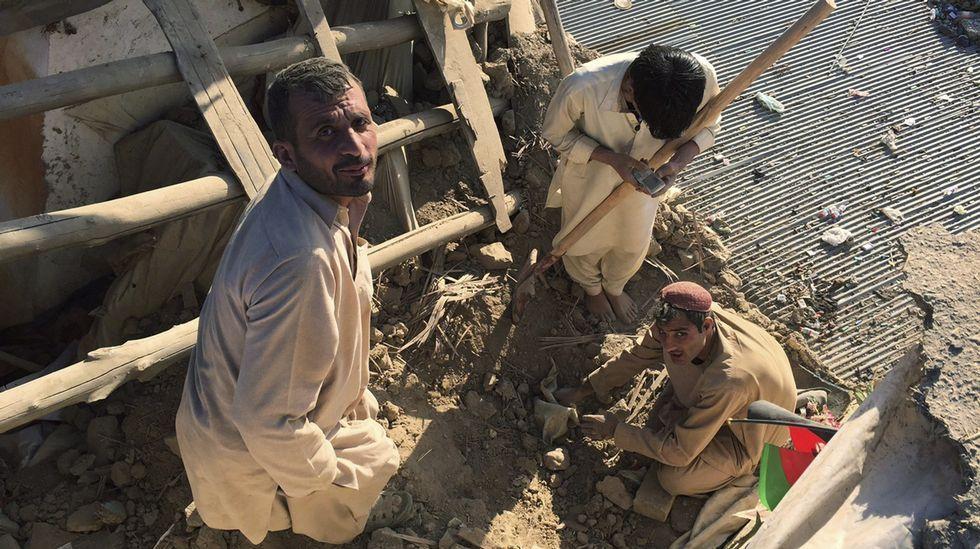 Un terremoto de magnitud 7,5 sacude el norte de Afganistán