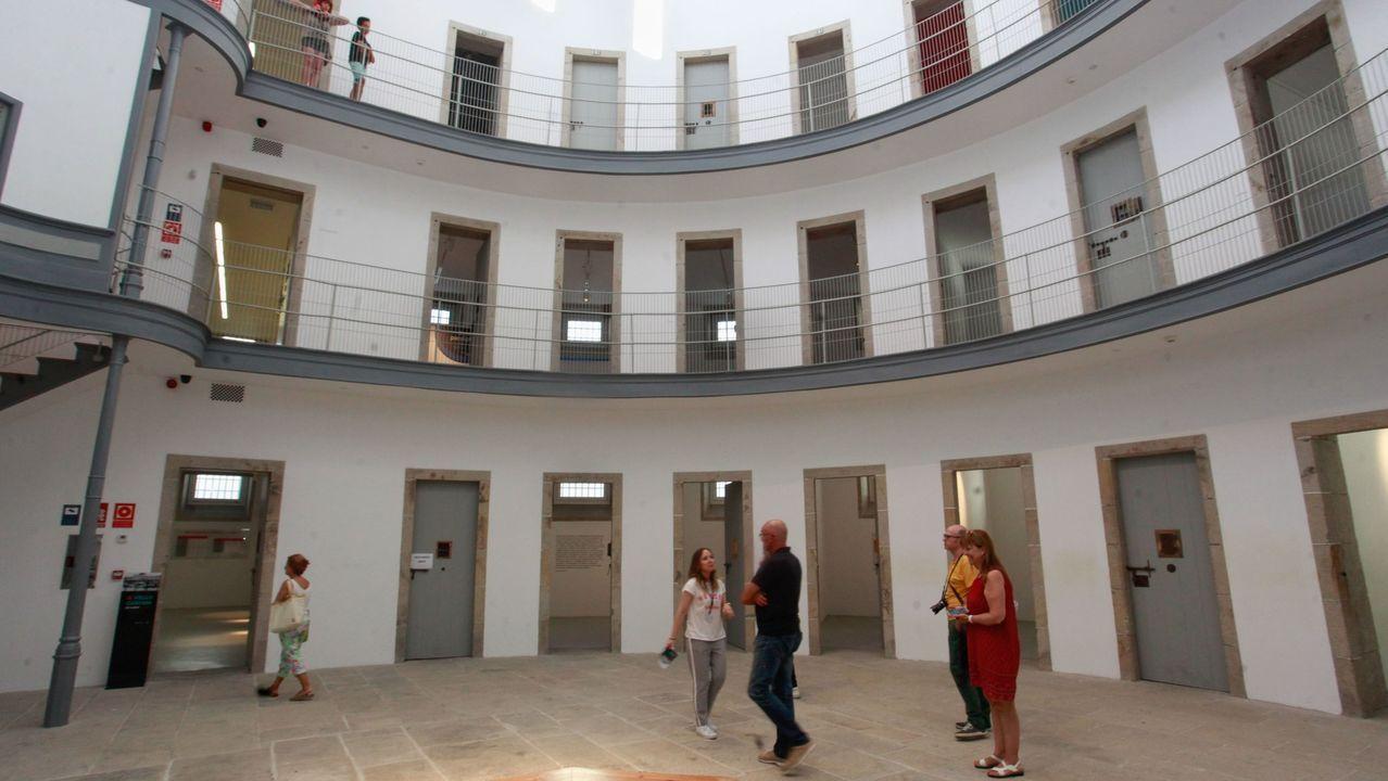 Visitantes en O Vello Cárcere