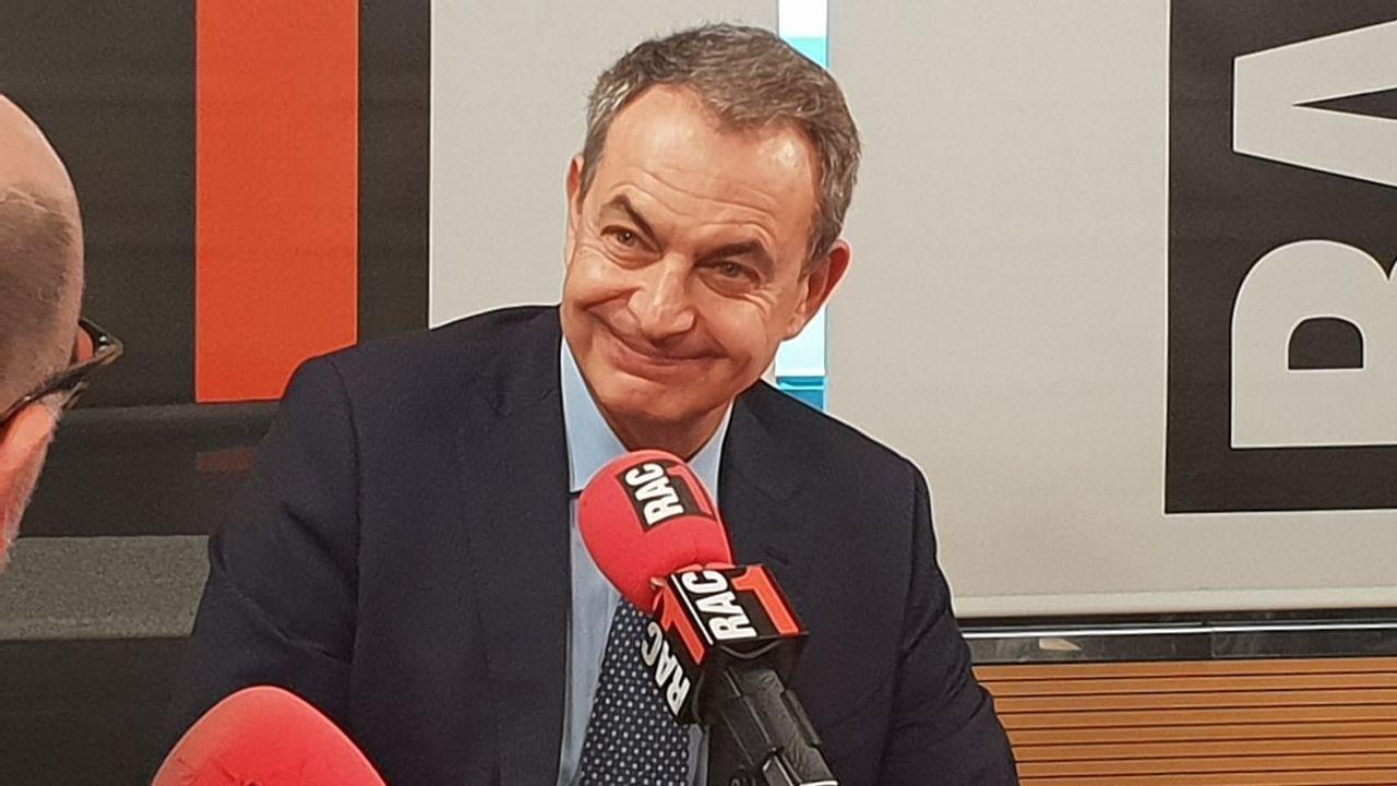 Juan Vázquez y Luis Garicano junto Patricia Martín, candidata a la Alcaldía de Siero y Sergio García