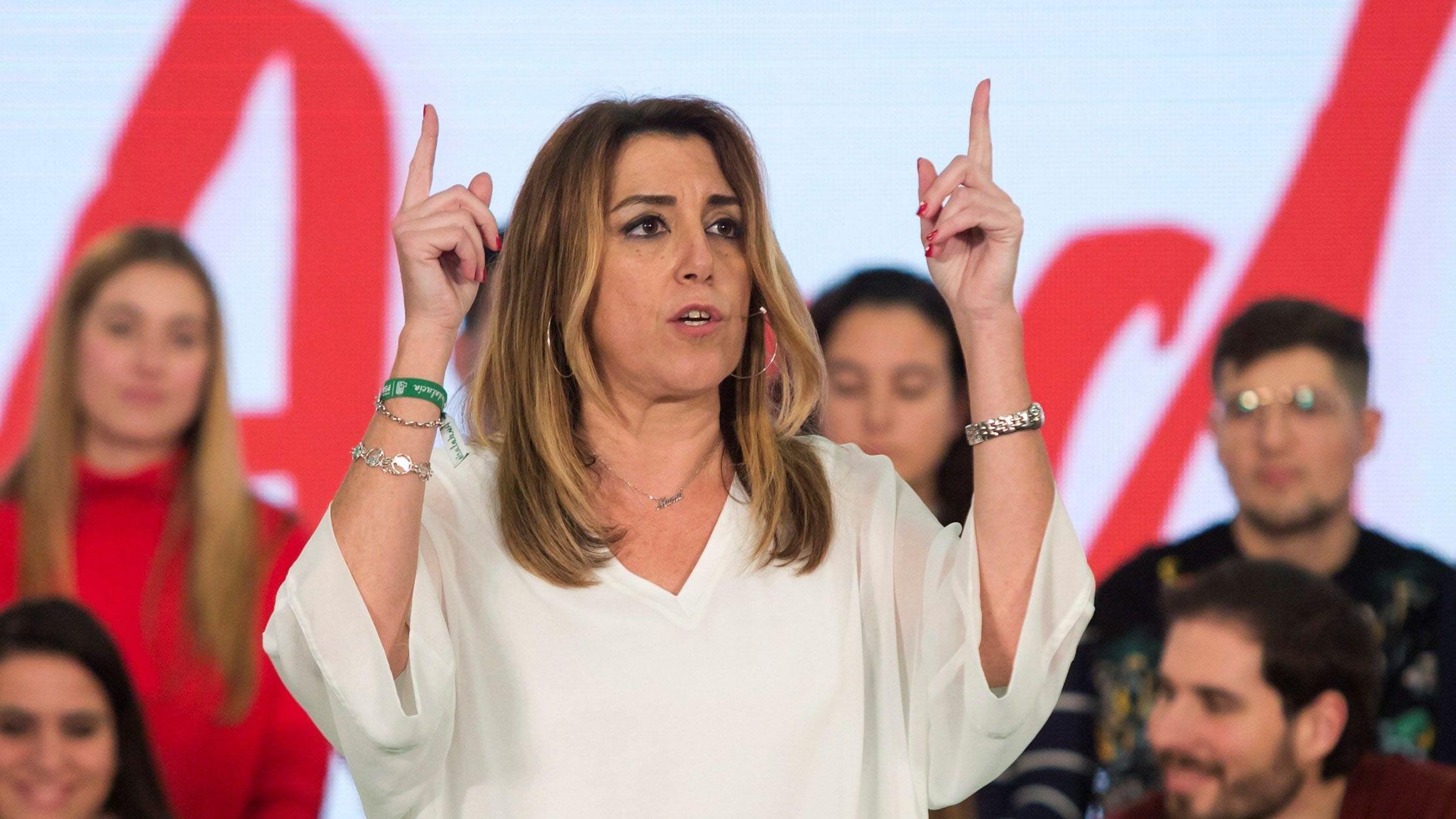 Las penas del caso de los ERE, una a una.Susana Díaz perdió las primarias con Sánchez