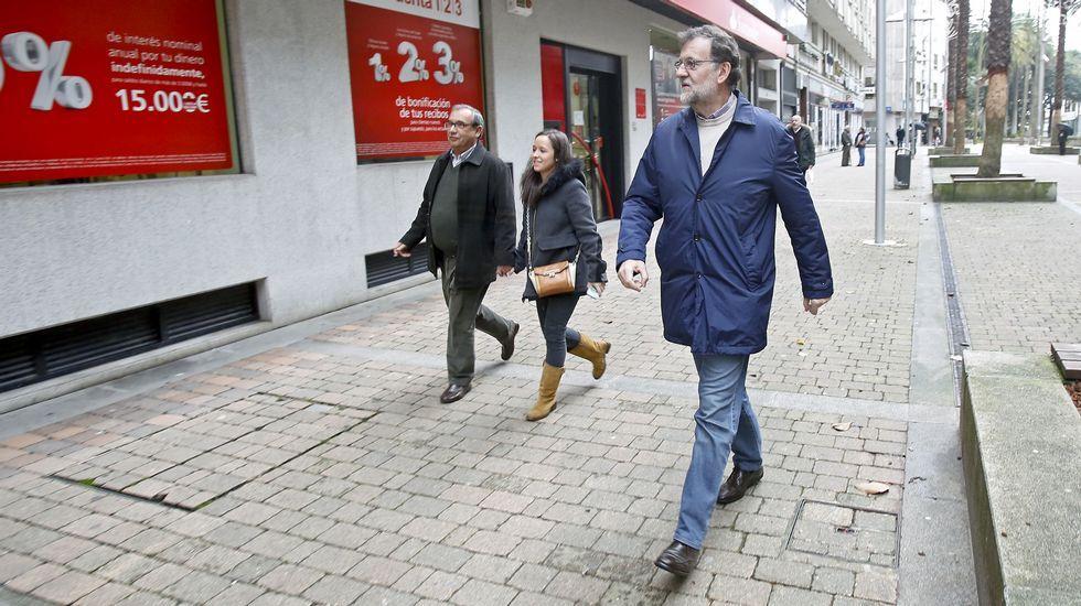 El presidente del Gobierno iba a hacer una gestión bancaria en la ciudad del Lérez