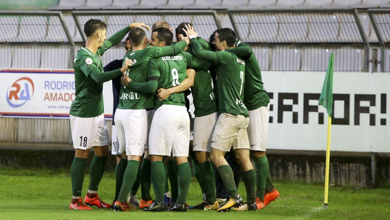 Las imágenes delpartido de fútbol Pontevedra CF - Langreo.Javi Rozada en el Real Oviedo-Girona