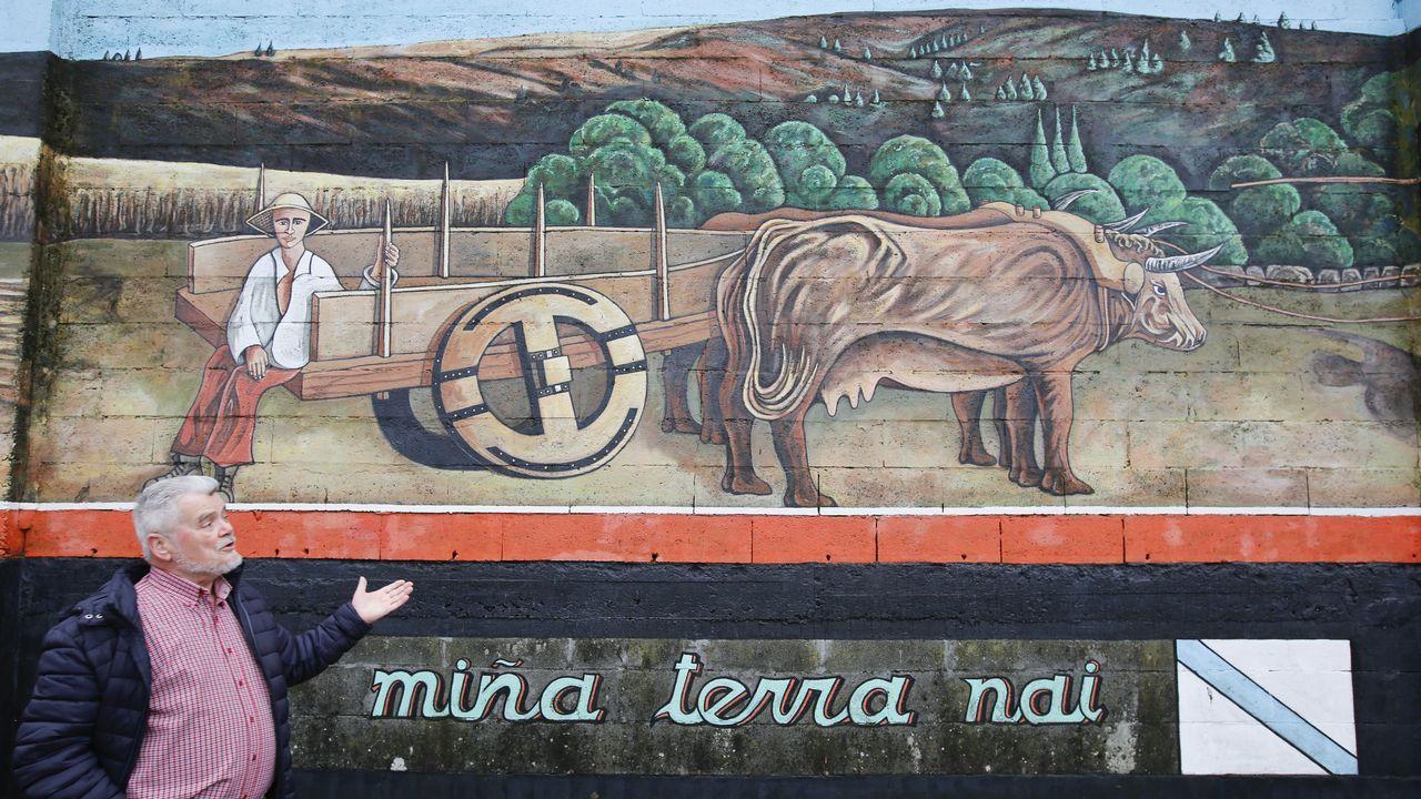 Monseiro, el pueblo de los siete murales