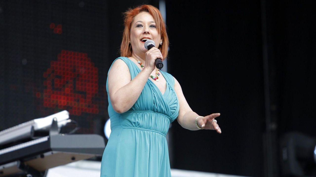 Pili Pampín actuará esta noche en las fiestas de Corbelle, en Vilalba