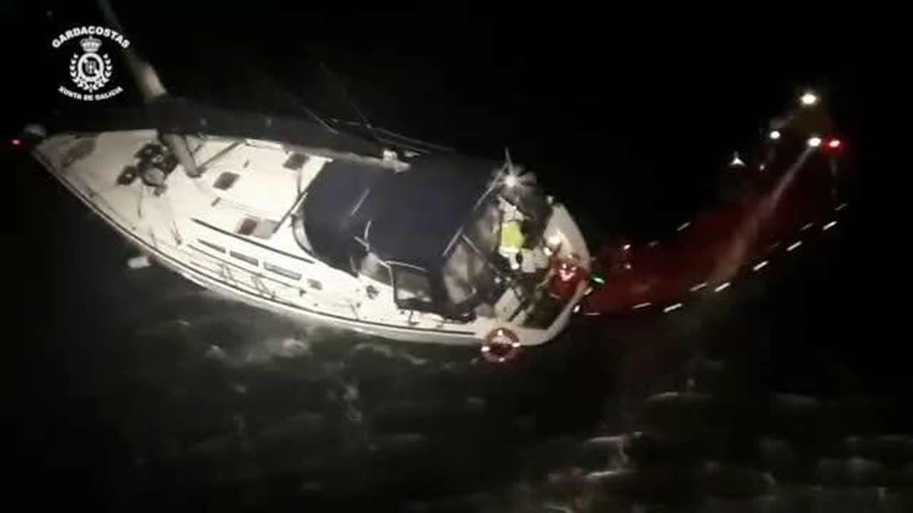 Así cayó el velero cargado de cocaína con destino a Galicia.Pajuelo fue, en 1990, el primer gallego cazado en el Atlántico con un gran porte de coca.