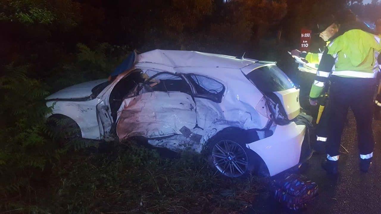 Fallece una joven de 20 años en un accidente en Barro