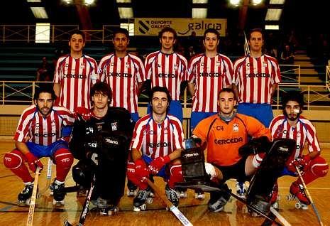 El Patín Cerceda es segundo en la liga de la Primera División Nacional de hockey.