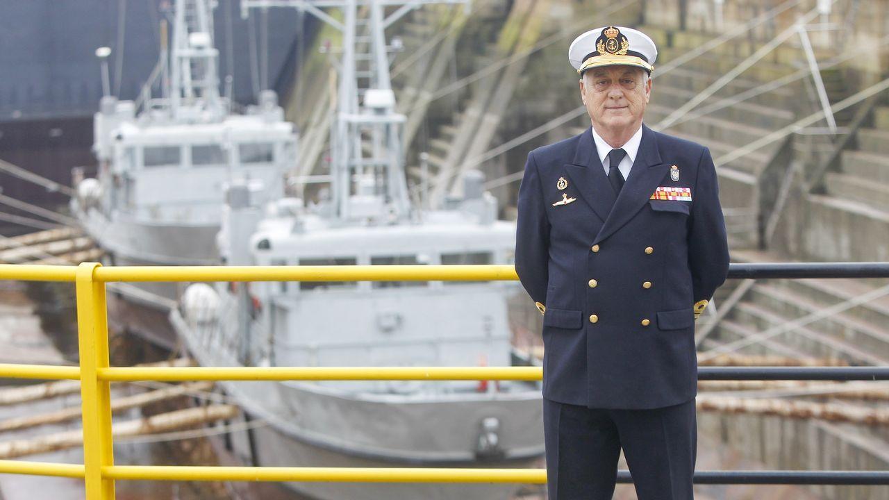 Conversación con el almirante jefe del Arsenal de Ferrol