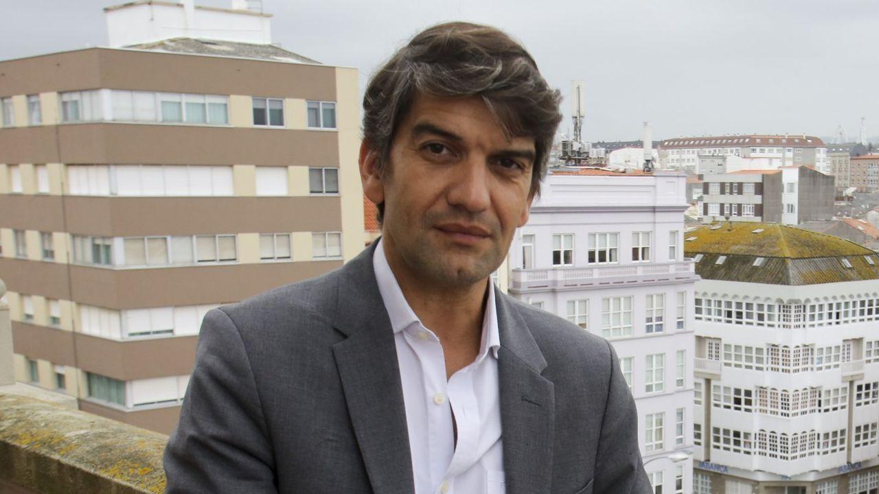 La nueva plaza de Armas de Ferrol.Marcos Lorenzo fue asesor cultural del Concello entre el 2007 y principios del 2009