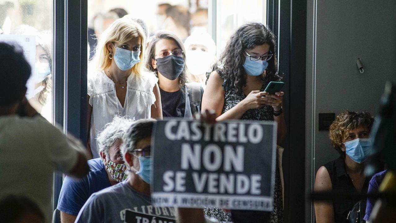 Moción de censura en Castrelo de Miño