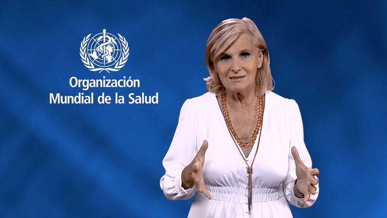 Naufragio delGulf Livestock1.La directora de Salud Pública de la Organización Mundial de la Salud (OMS), la asturiana María Neira