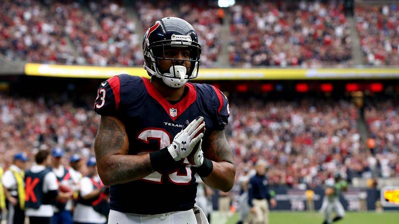 Arian Foster, jugador de Houston Texans