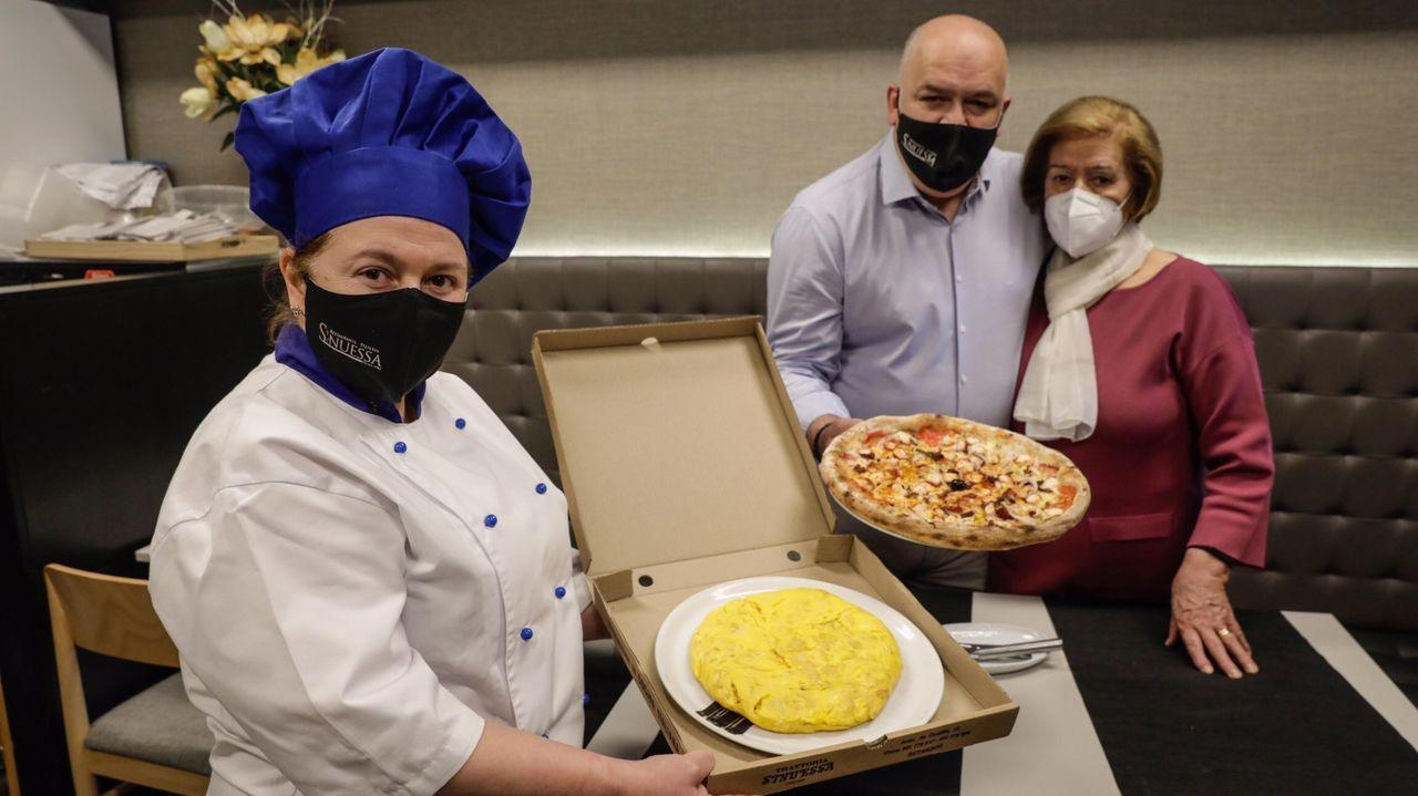 La pizzería Sinuessa tiene la mejor tortilla de Betanzos