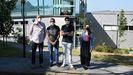 El equipo de la Escola de Enxeñaría de Telecomunicación encargado de la investigación