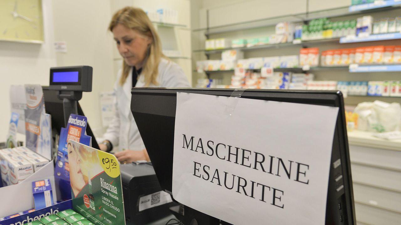 Una farmacia en Codogno